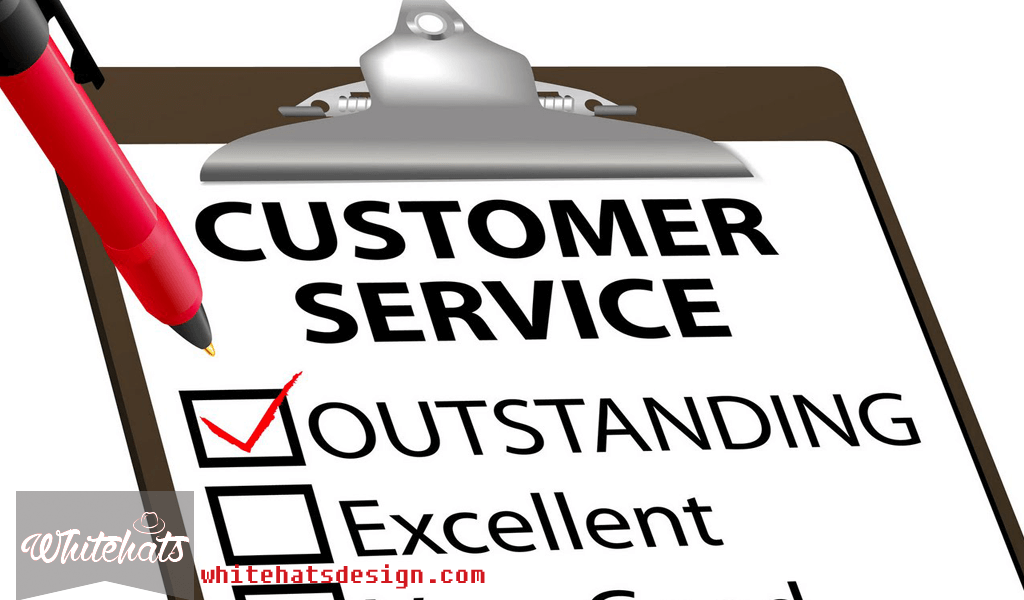 Provide Better Customer Service-professional website design-WhitehatsDesign