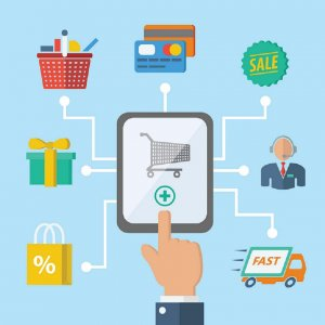 mobile commerce, e-commerce web design Dubai