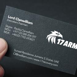 17 ARM BUSINESS CARD
